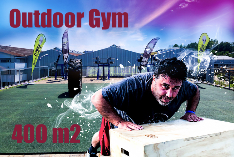 Outdoor Gym 400 m2 - Fitness in Rümlang